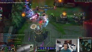 The BEST TP ESCAPE in League of Legends HISTORY! - League of Legends Best Stream Moments #40