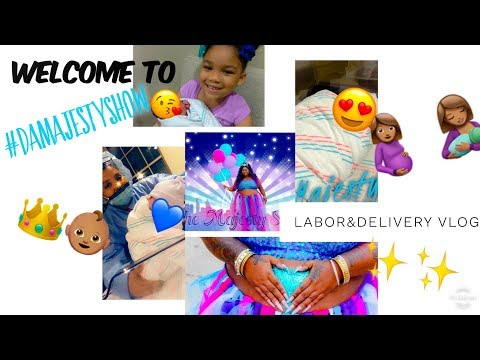 Welcoming Baby Majesty 🥳👑💙! Labor & Delivery Vlog | #DaMAJESTYSHOW🥳