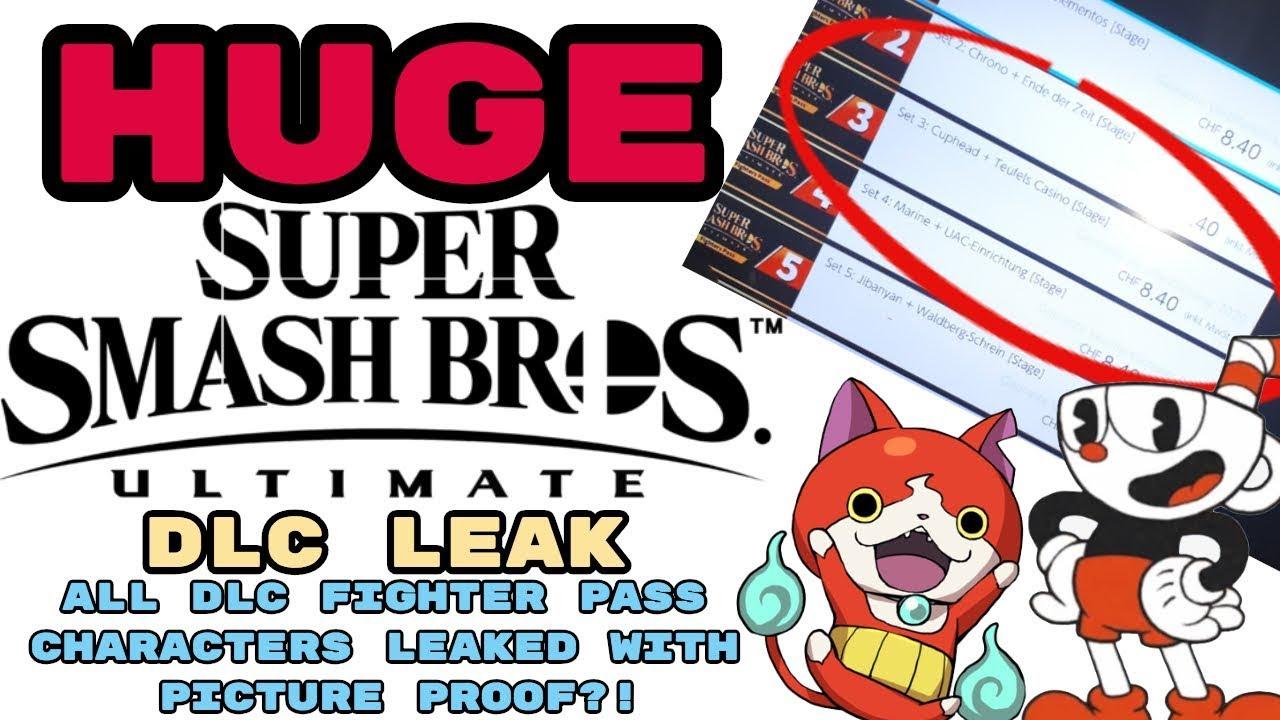 Fighter Pass Leak Super Smash – Fondos de Pantalla