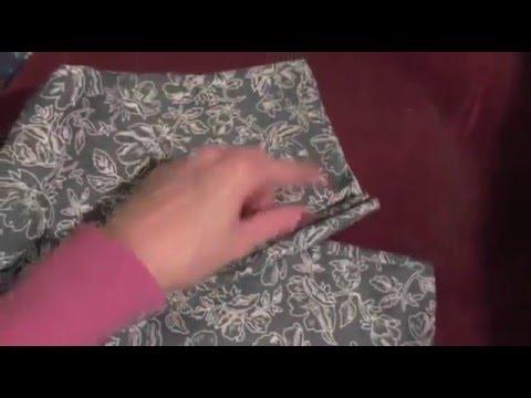 Выкройка брюк на резинке для женщин 46 размера