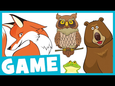 Learn Forest Animals for Kids | What Is It? Game for Kids | Maple Leaf Learning