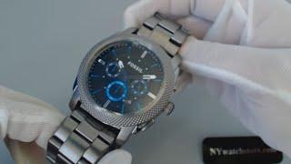 Men's Smoke Fossil Machine Chronograph Watch FS4931