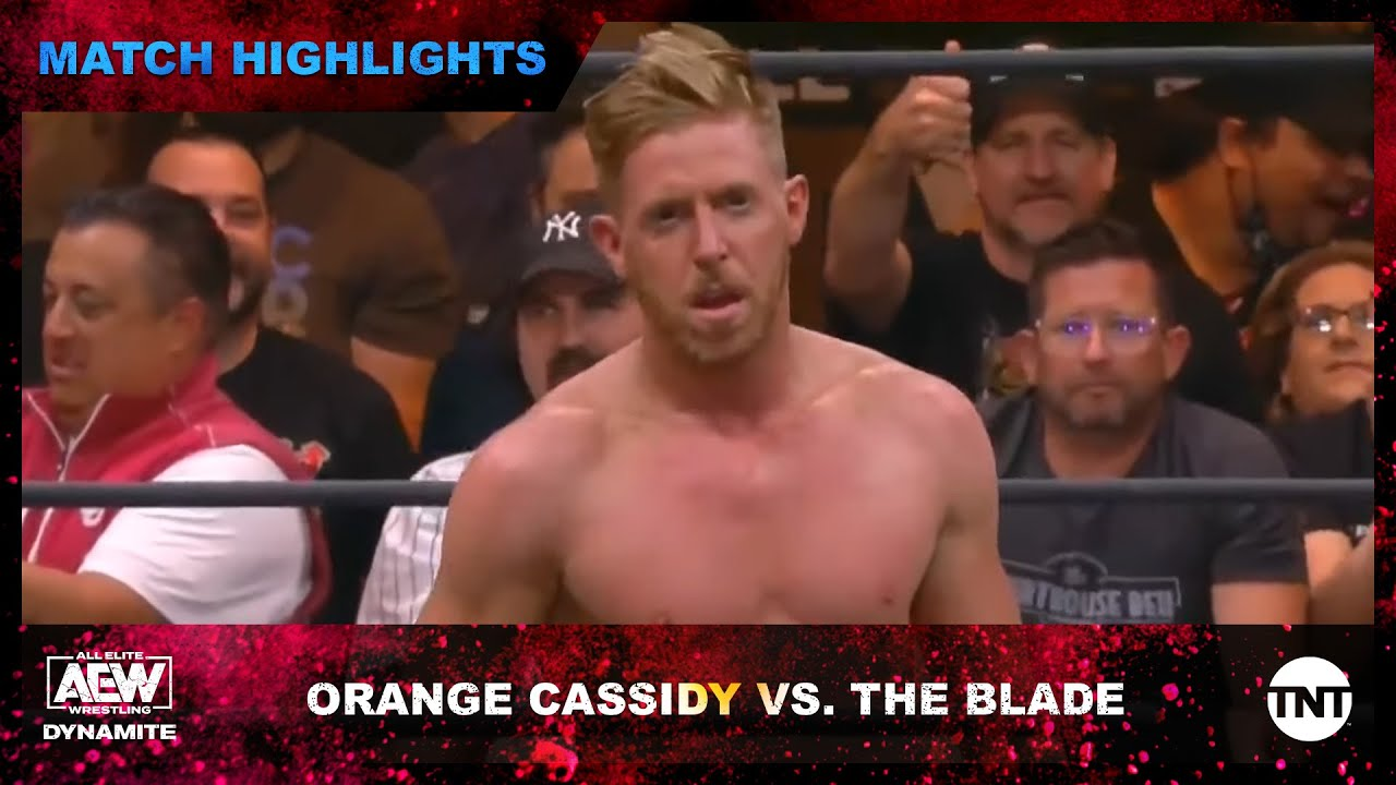 Orange Cassidy Survives The Blade on AEW Dynamite