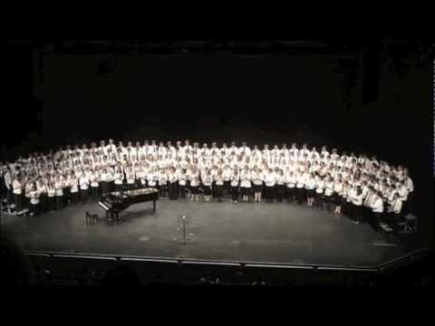 Elijah Rock - Moses Hogan (High School Maine All-States Choir 2010)