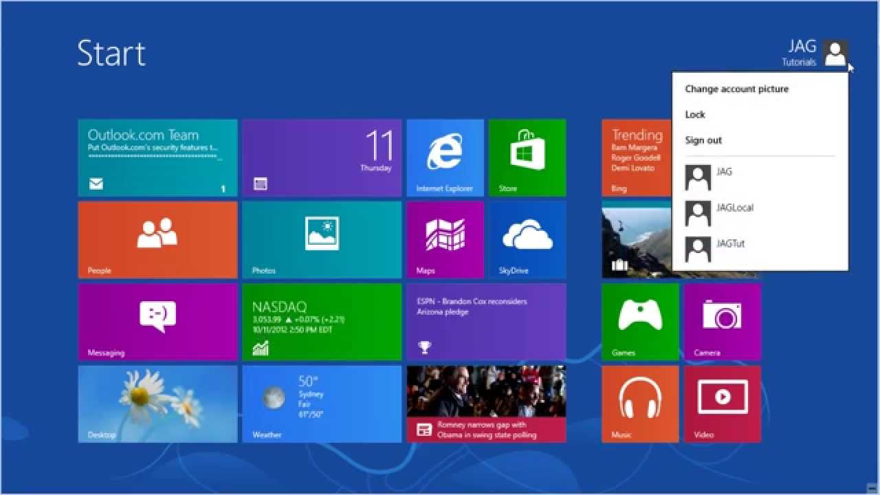 Windows 8 tutorials introduction to the windows 8 interface.