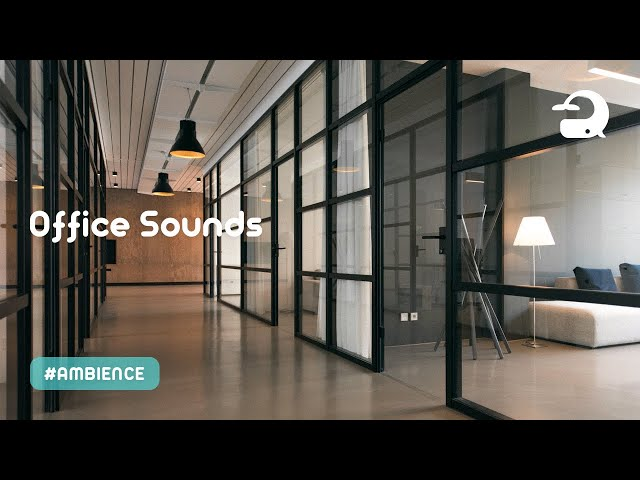Office Ambience Sounds / Background White Noise for Working