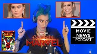 What is UP w the Brie Larson Captain Marvel Controversy?