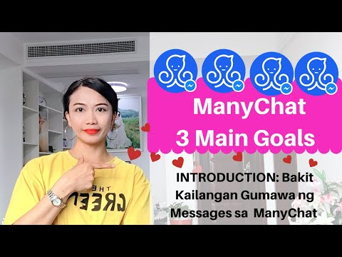 Manychat tutorial 2019 Tagalog l Introduction Lesson 1 thumbnail