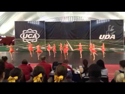 Illinois Dance Team UDA Home Routine 2013