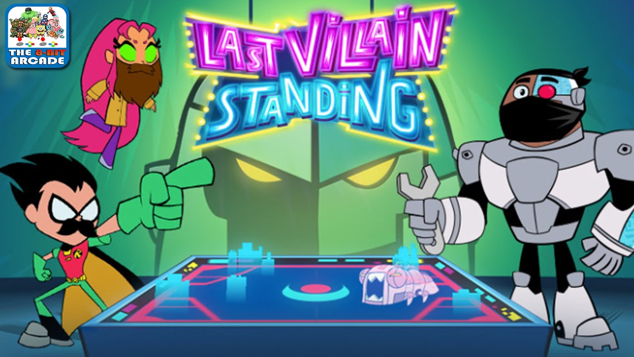 Teen Titans Go Last Villain Standing Playthrough