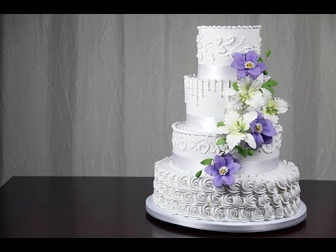 Ercream Wedding Cake Embling A Tiered Making Your Own Decorating With