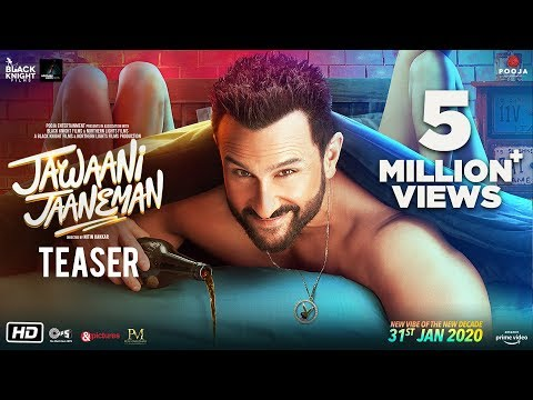 Jawaani Jaaneman - Teaser | Saif Ali Khan, Tabu | Alaya F | Nitin K | 31st Jan 2020