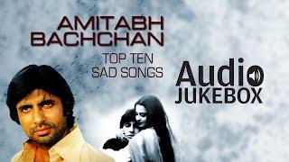 Super-Hit Sad Songs of Amitabh Bachchan | O Saathi Re | Audio Jukebox