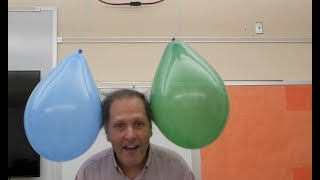 Static Electricity- Triboelectric series // Homemade Science with Bruce Yeany