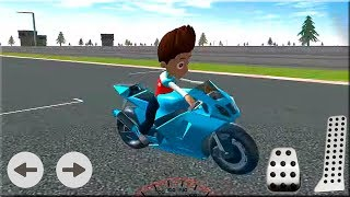 PAW Ryder Moto Racing 3D Game - Patrol Games Bike Game to Play