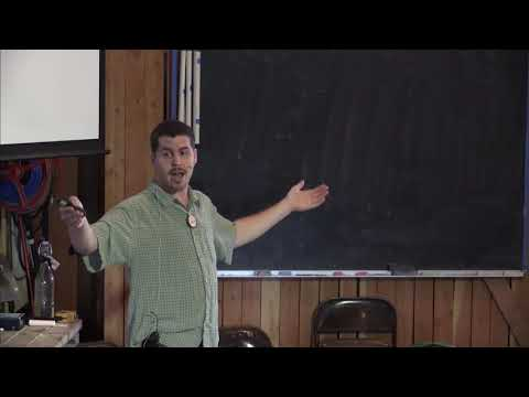Zach Weiss permaculture presentation: water retention landscapes