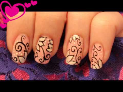 Nail Design Sakura Migi Nail Art Pen Youtube
