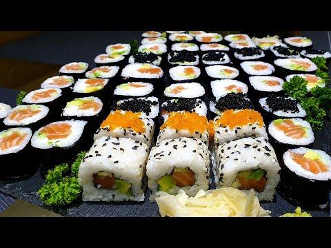 Как приготовить суши (роллы, маки) в домашних условиях. Быстро, просто и НЕДОРОГО! Sushi Recipe