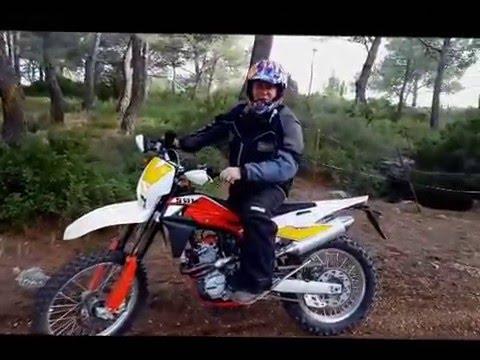 ESSAI PROFESSIONNEL MOTO SWM ENDURO