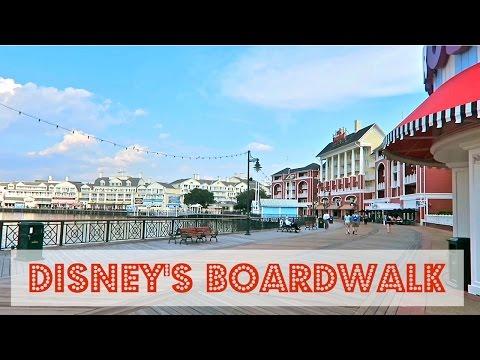 Disney's Boardwalk area overview - Walt Disney World