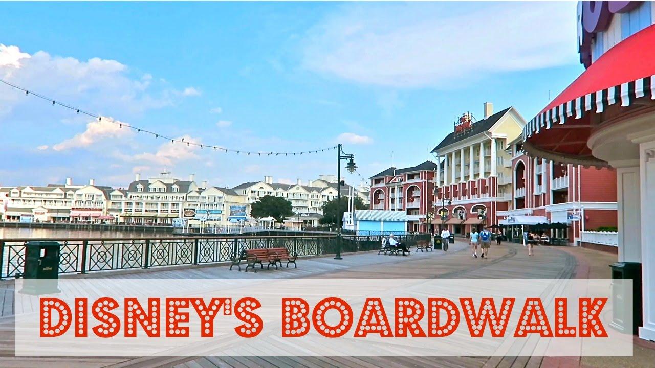Disney S Boardwalk Area Overview Walt World
