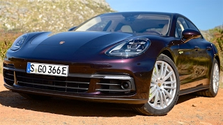 2017 porsche panamera review tesla can t touch this interior