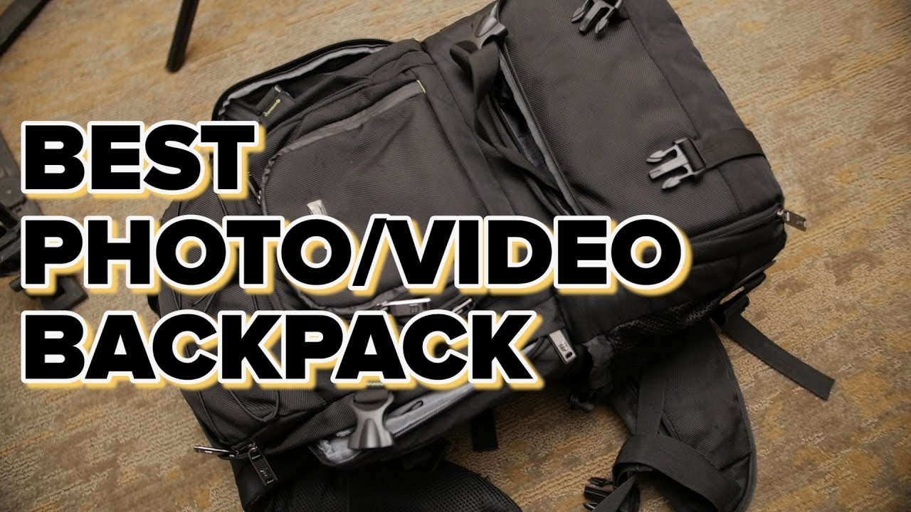 Best Photo & Video Backpack: Evecase Extra Large Camera/Laptop ...