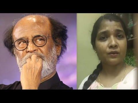 ரஜினிக்கா நீ ஓட்டு போட்ட? Serial Actress Laxmi Speech about Rajinikanth Political Entry