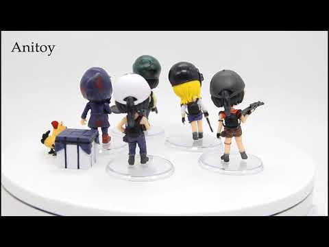 Aliexpress PUBG Figure Action Playerunknowns BattleGrounds Winner Chicken Q Version PVC Collection M