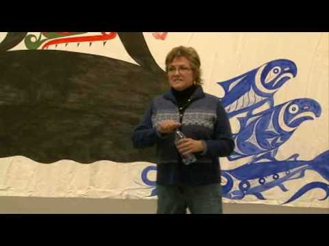 Shaunee Casavant - Backstory: Nuuchaanulth Ceremonial Curtains and the Work of Ki-ke-in