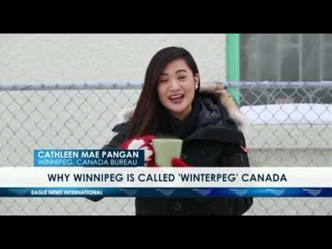 "Winnipeg - ""Winterpeg""  - Cathleen Mae Pangan - EBC Canada bureau"