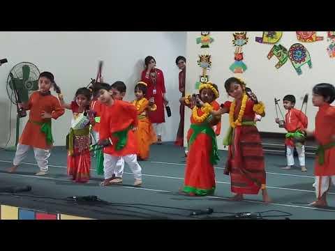 Tayeeba performing at DPS STS Dhaka Nursery .