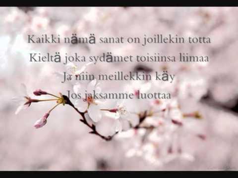 Katri Ylander - Kaikki Nämä Sanat (Lyrics)