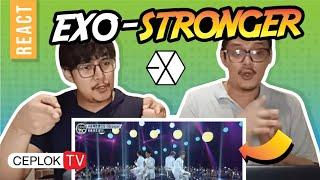 EXO-STRONGER MUSICIAN REACT