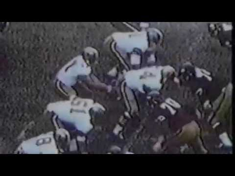 New Orleans Saints History | Highlights of Billy Kilmer, the first Quarterback in New Orleans