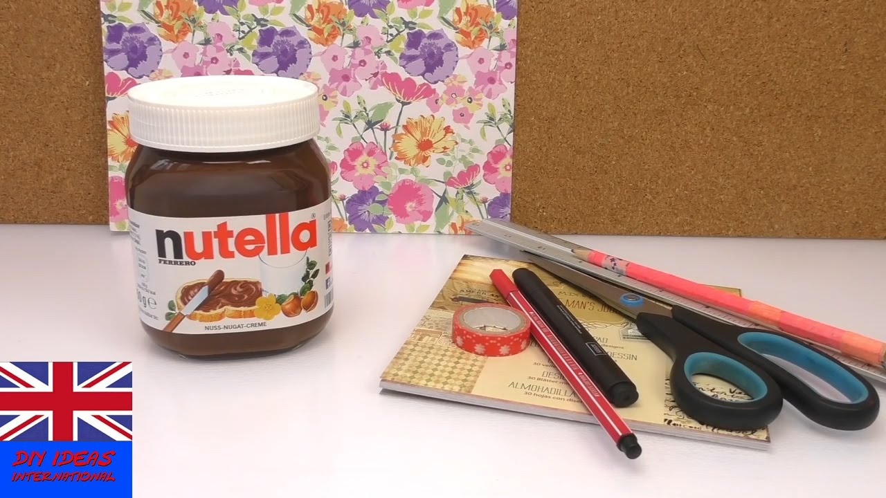 Personalized Gift Ideas Personal Nutella Jar Treat Your Best Friend To A Surprise Youtube