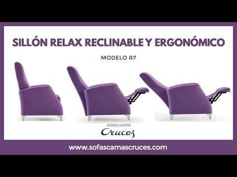 Sill n relax de estilo moderno youtube - Sillon relax moderno ...