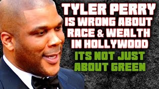 Tyler Perry is wrong about Race and Wealth in Hollywood in The Hollywood Reporter