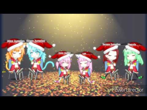 Gacha Studio - Mistletoe (ft new OCs at the end)