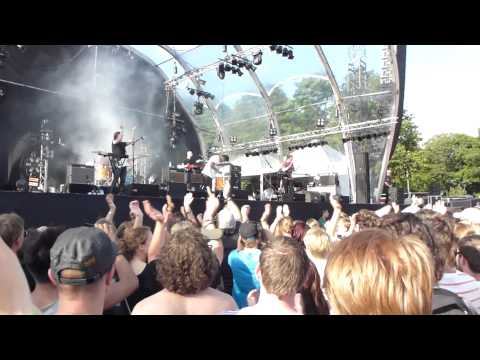 The Temper Trap - Drum song  - Live on stage - Rockinpark  - live 2012 - 2012 - HD Dolby Surround