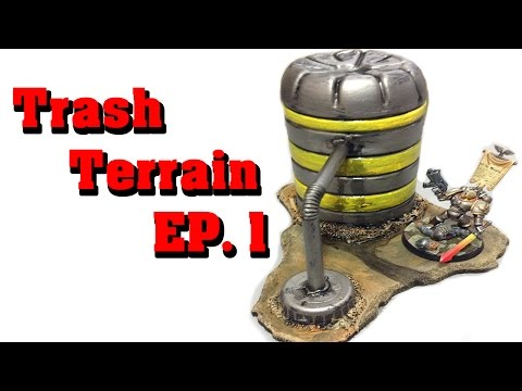 Make Terrain From Trash! EP 1  - industrial terrain