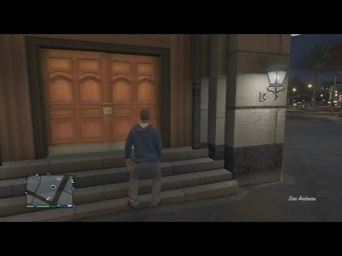 Gta 5 Online Enterable Bank Location Gta V Multiplayer Where Is The Bank In Gta Online Youtube