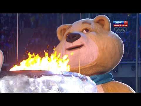 Самый трогательный момент до слёз на закрытии Олимпиады в Сочи 2014