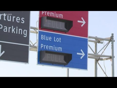 TRAVEL ALERT | Parking lots are full at Cleveland Hopkins International Airport