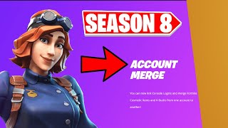 HOW TO MERGE FORṪNITE ACCOUNTS IN CHAPTER 2 SEASON 8!