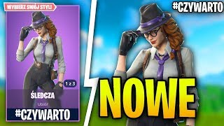 INVESTIGER-NEW SKIN LADY DETECTIVE in Fortnite Battle Royale-Gameplay #czywarto