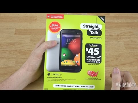 Motorola Moto E Unboxing and Extended Look!