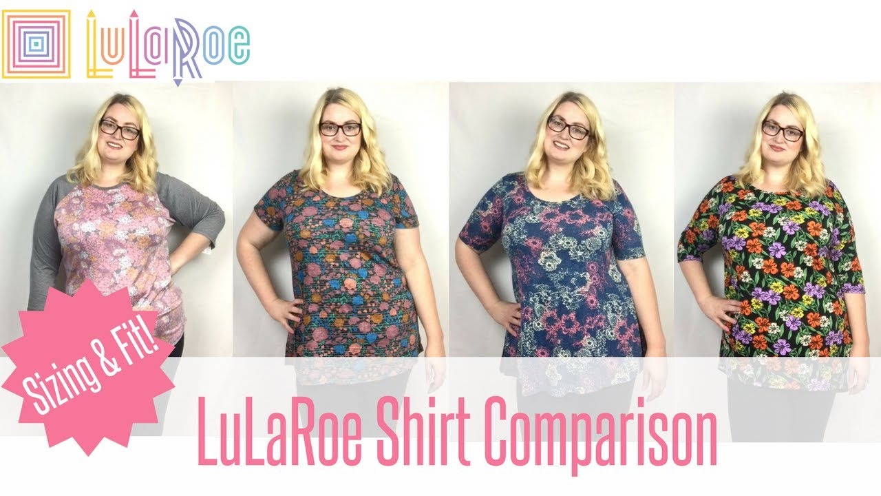 8d227d86fbf LuLaRoe Shirt Comparison - Sizing and Fit for PLUS SIZES - YouTube