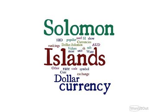 Solomon Islands Currency - Dollar