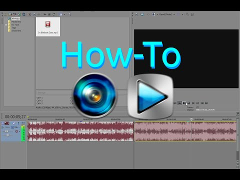 Sony Vegas: How to Disable Audio Fading After Splitting